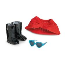 American Girl Grace Thomas SIGHTSEEING ACCESSORIES shawl sunglasses boots #CLG46