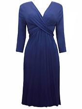 Marks and Spencer Viscose V Neck Dresses for Women