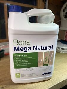 Bona Mega Natural - The Look of Natural, Untreated Wood - 5L - FREE DELIVERY