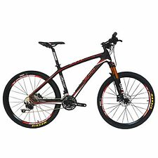 BEIOU T800 Carbon Fiber Mountain Bike SHIMANO M610 DEORE 30 Speed RT 26 CB025A