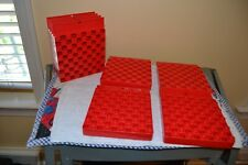 Lot Of 8 Hornady Universal Loading Trays Each Block Holds 50 Cases 2 Sides