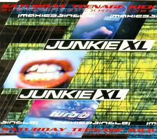 JUNKIE XL - Saturday teenage kick 4TR CDM 1998 BIG BEAT