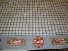twin size bed flat sheet Drink Coca-Cola Coke fabric sheet