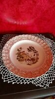 "Dinner Plate 9.5"" Sebring Pottery Warranted 22K Gold Chateau France Le Maitre"