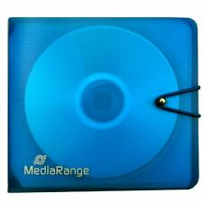 ARCHIVADOR 12 CD / DVD / BLURAY - CARPETA - AZUL - PLASTICO