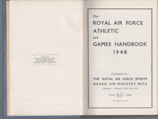 THE ROYAL AIR FORCE ATHLETIC AND GAMES HANDBOOK HARDBACK 1948