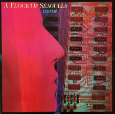 A FLOCK OF SEAGULLS - Listen (LP) (VG/VG-)