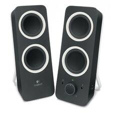 Logitech z200 speaker midnight black multimedia-altavoces 15,1x24,4x21,6 cm