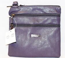 Women Ladies Leather Style Cross Acrossbody Shoulder Messenger Bag Zipped