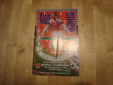 ALAN Smith (ARSENAL): Arsenale V SAMPDORIA NOV 1995 vantaggio Gioco