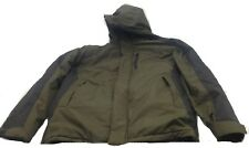 $279 Hawke & Co Men Green Black Hooded Winter Warm Insulated Coat Jacket Size S