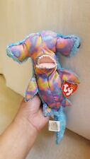 2002 TY SLEDGE the HAMMERHEAD SHARK BEANIE BABY pre-owned good cond, SEE PICS 🦈