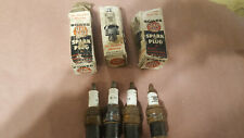 4 Bowes Seal Fast  NOS SPARK PLUGS 3 B75 18mm and 1 special unknown