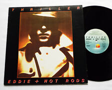 EDDIE & THE HOT RODS Thriller FRENCH Orig LP ISLAND 9101 685 (1979) EX/NMINT