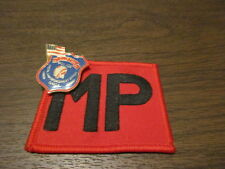 Military Police - MP - Clifton NJ - Embroidered  Sew-on Patch & PIN