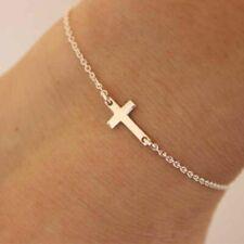 Women Chain Bracelet Charm Cross Bracelets Girls Fashion Bangle Ladies Bangles