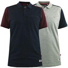 Mens Polo T Shirt Duke D555 Big King Size Pique Top Short Sleeve TERRACE Fashion
