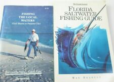 2 Books Florida Saltwater Fishing Guide & The Local Waters Gulf Shorts to Destin