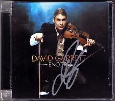 David GARRETT Signiert ENCORE Smooth Criminal Clair Lune CD Autogramm Autograph
