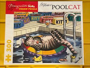 "Pomegranate  -  ""B. Kliban: PoolCat"" - 300 piece Fine Art Puzzle NEW"
