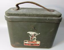 Vintage Thermos Swivel Seat Shell Box