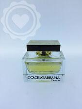 DOLCE & GABBANA THE ONE EDP 75ML WOMAN 75% capacity/ full