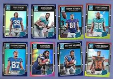 2016 Donruss Optic Rated Rookie - 23 card lot - Refractors