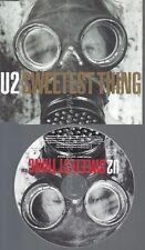 CD--PROMO--U2 --SWEETEST THING --