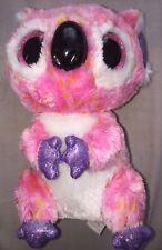 TY Beanie Boos, pink & white Kacey the Koala toy. Plush Soft Toy