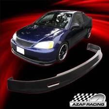 2001 2002 2003 Mu Style  Front Bumper Lip Spoiler PP Fits Honda Civic 2Dr 4Dr