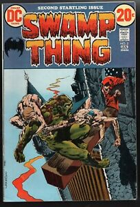 Swamp Thing #2 F/VF