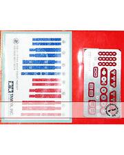 Tamiya 1/20 70's Seat Belt Hardware & Belts for Fujimi Aoshima Beemax Hasegawa