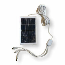 Camra and Mobile Solar Panel Charger Mobile Phone PowerBank Torches 3 Socket