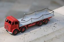 Vintage Dinky Supertoys / MIB / Foden 8-Wheel Flat Truck w/ Chains / No. 905 - 2