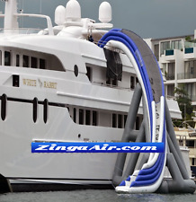 40' Commercial Inflatable Curved Yacht Water Slide Ocean Ship Boat We Finance