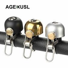 AGEKUSL Bike Bell Ring Horn For Brompton Dahon Folding Bicycle Mini Metallic