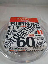 Set of 3 Burn 60 Resistance Bands ~Brand New in Box~