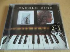 ♫ CD ♫ CAROLE KING WRITER + RHYMES & REASONS CD 2 ON 1