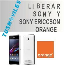 LIBERAR UNLOCK SONY Y SONY ERICSSON ORANGE XPERIA P J S ARC S U5i P U T TIPO