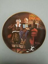 """Evening's Ease"" Rockwell's Light Campaign 4th Plate-Knowles China"