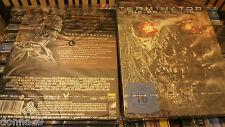 salvación de Terminator Blu-ray AGOTADO OOP RARO excluive Caja metálica