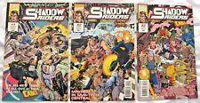 1993 Marvel Comics Shadow Riders #1, 2, 3.
