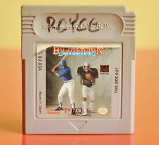 Bo Jackson: Two Games In One (Nintendo Game Boy, 1991)