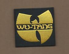 New 3 Inch Wu-Tang Iron On Patch Free Shipping