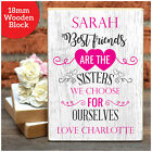 Best Friends Sisters Personalised Birthday Gift for Best Friends Friendship Her