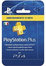 PlayStation Plus (PSN), Abbonamento 12 Mesi -  (invio immediato)