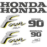Honda BF 4.5 four stroke outboard decal aufkleber adesivo sticker set