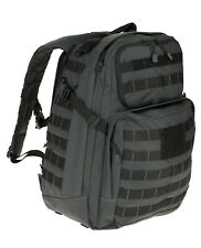 5.11 Tactical Rucksack Rush 24 Backpack Double Tap Schwarz / Grau Molle System