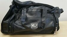 MLF Major League Fishing Carry On Travel Bag in Black Leatherette
