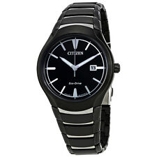 Citizen Paradigm Black Dial Mens Watch AW1558-58E